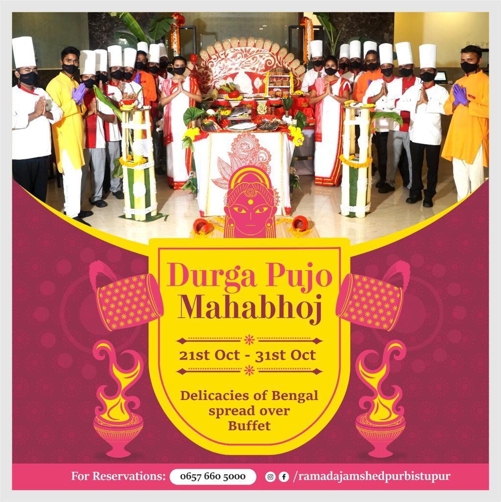 Durga Pujo Buffet Jamshedpur 2020